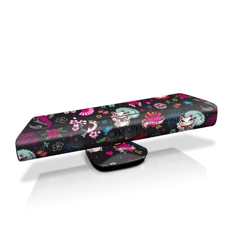 Geisha Kitty Kinect for Xbox 360 Skin