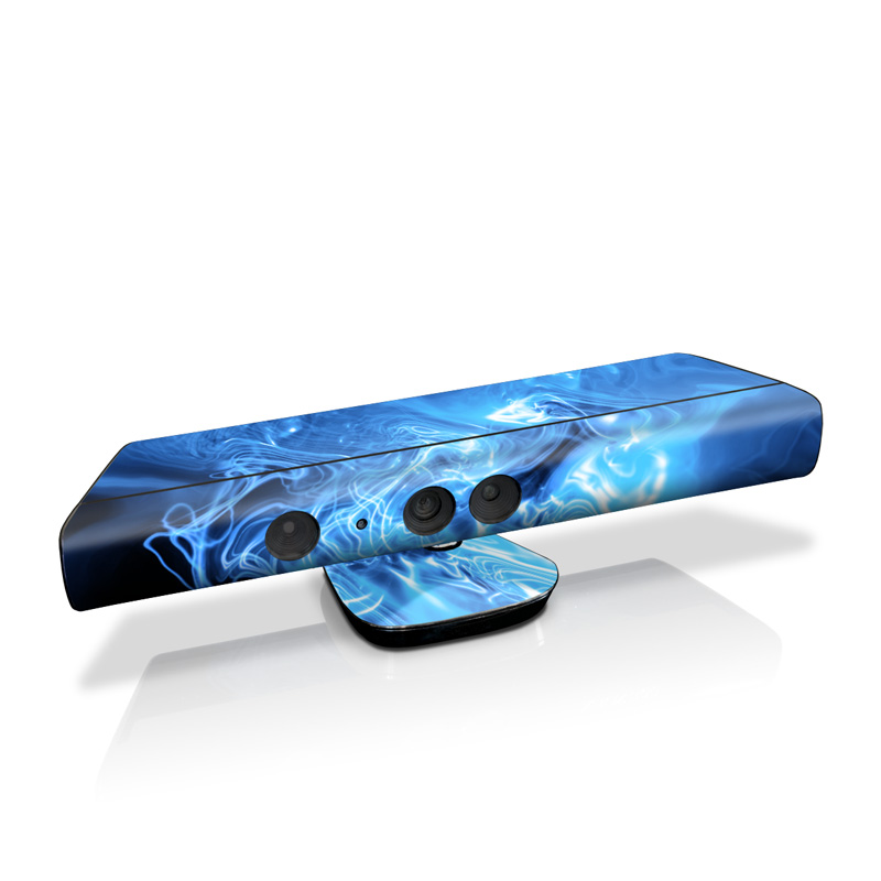 Blue Quantum Waves Kinect for Xbox 360 Skin