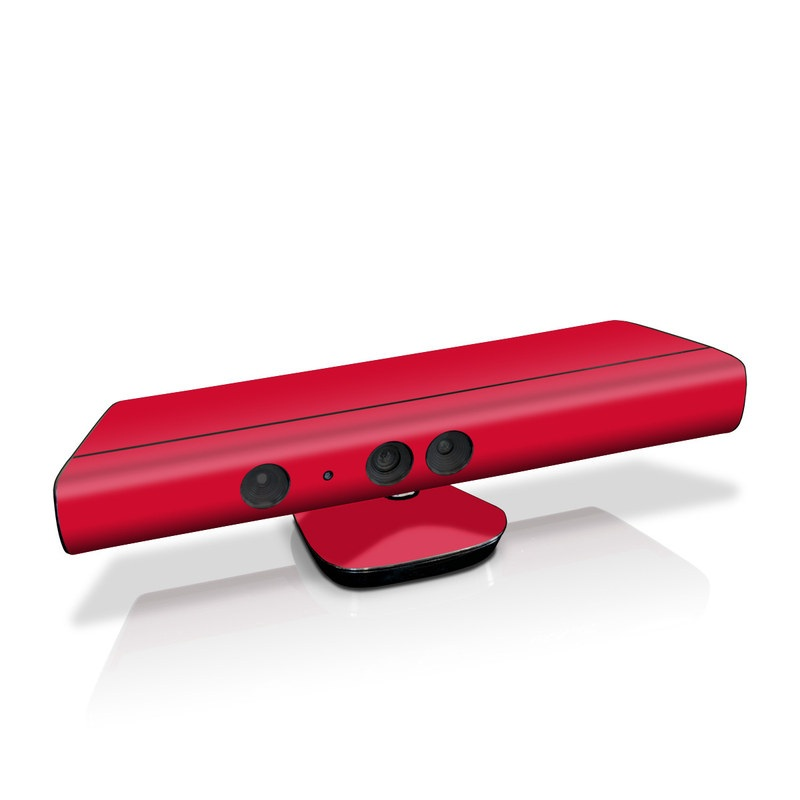 Solid State Red Kinect for Xbox 360 Skin