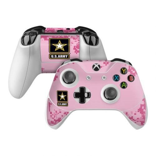 Army Pink Microsoft Xbox One Controller Skin
