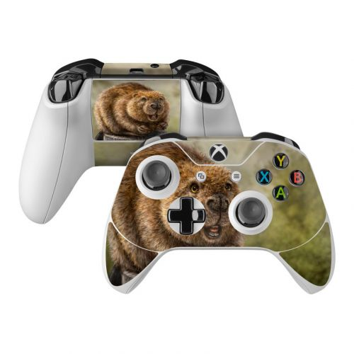 Beaver Totem Xbox One Controller Skin