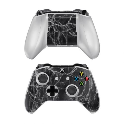 Black Marble Xbox One Controller Skin