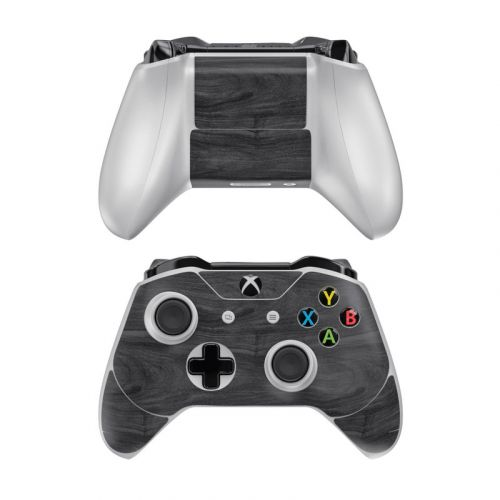Black Woodgrain Xbox One Controller Skin