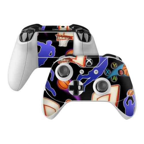 Basketball Swish Xbox One Controller Skin