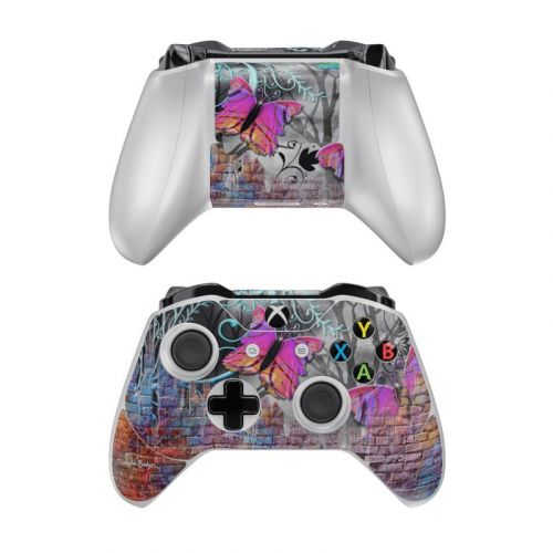 Butterfly Wall Xbox One Controller Skin