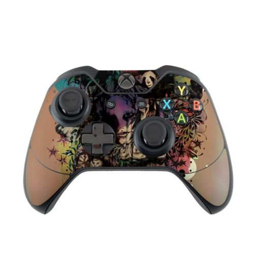 Doom and Bloom Xbox One Controller Skin