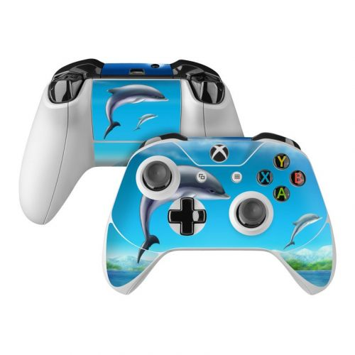 Dolphins Xbox One Controller Skin