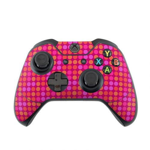 Dots Pink Xbox One Controller Skin