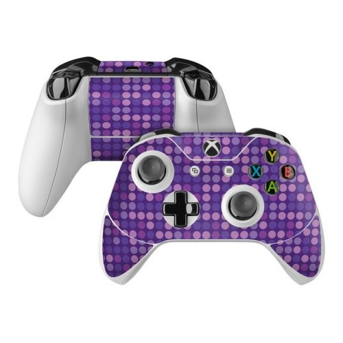 Dots Purple Xbox One Controller Skin