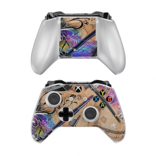Dream Flowers Xbox One Controller Skin