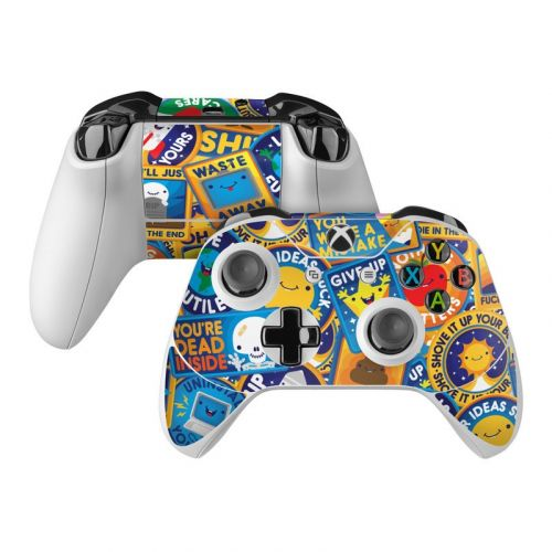 Eff Right Off Xbox One Controller Skin