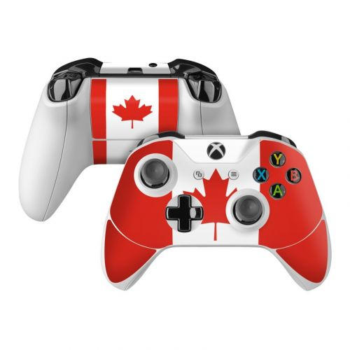 Canadian Flag Xbox One Controller Skin