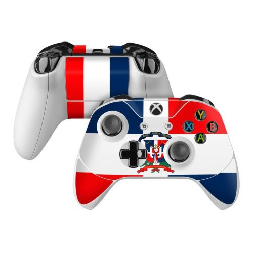 Dominican Republic Flag Xbox One Controller Skin