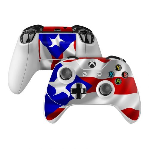 Puerto Rican Flag Xbox One Controller Skin