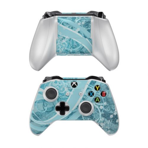 Flores Agua Xbox One Controller Skin