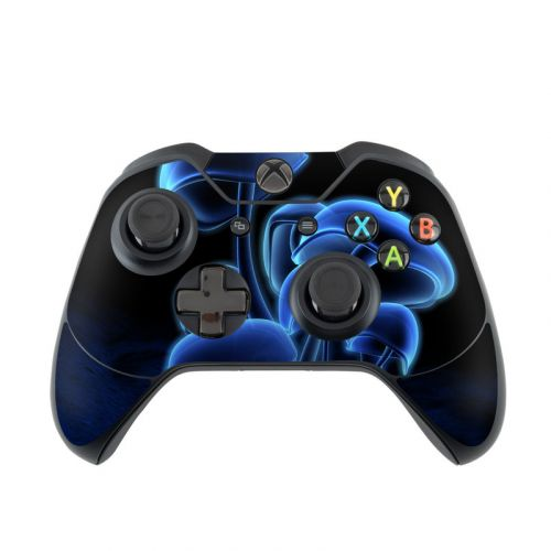 Fluorescence Blue Xbox One Controller Skin