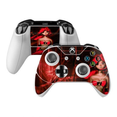 Ghost Red Xbox One Controller Skin