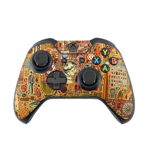 The Golding Time Xbox One Controller Skin