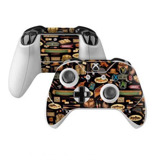 Gone Fishing Xbox One Controller Skin
