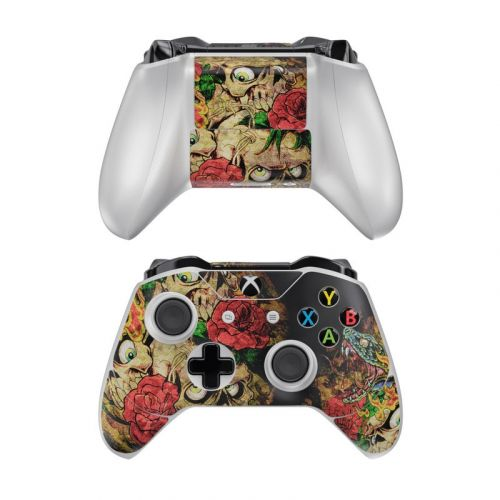 Gothic Tattoo Xbox One Controller Skin