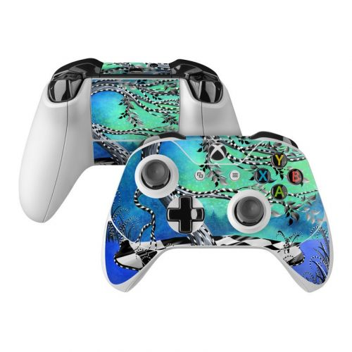 Haunted Tree Xbox One Controller Skin