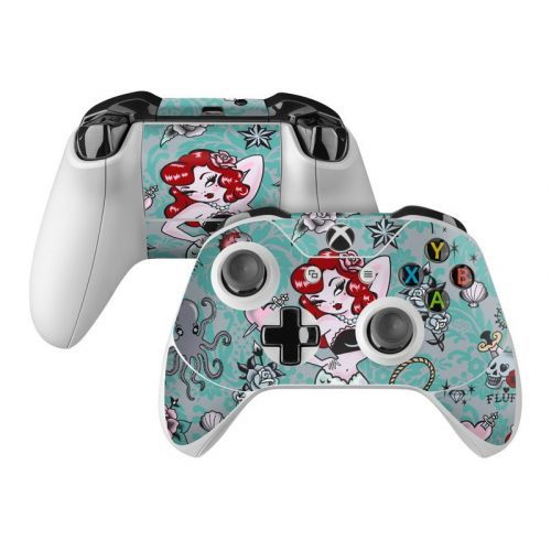 Molly Mermaid Xbox One Controller Skin