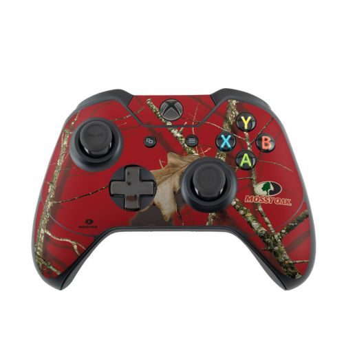 Break Up Lifestyles Red Oak Xbox One Controller Skin