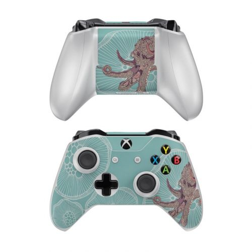 Octopus Bloom Xbox One Controller Skin