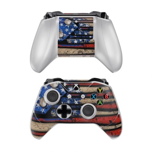 Old Glory Xbox One Controller Skin