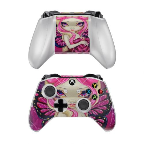 Pink Lightning Xbox One Controller Skin