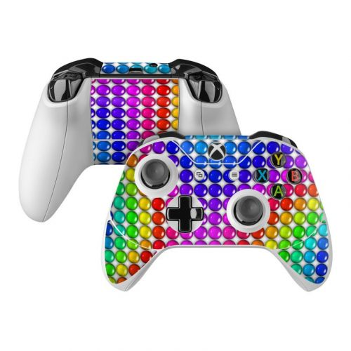 Rainbow Candy Xbox One Controller Skin