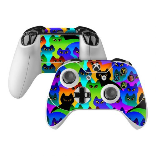 Rainbow Cats Xbox One Controller Skin