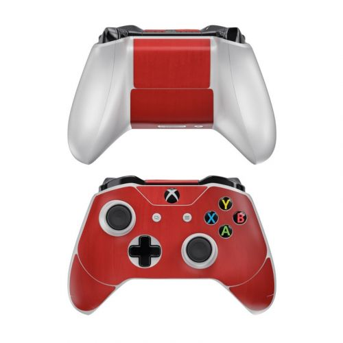 Red Burst Xbox One Controller Skin