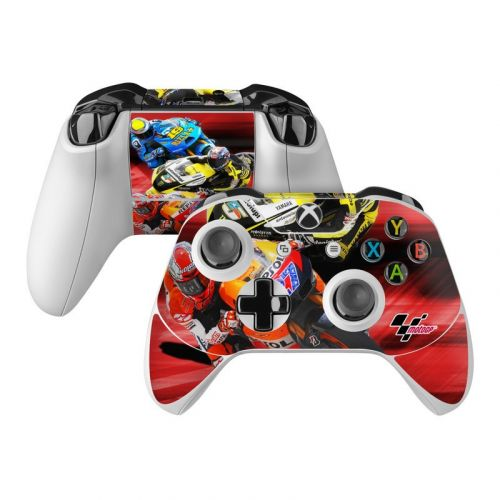 Speed Collage Xbox One Controller Skin