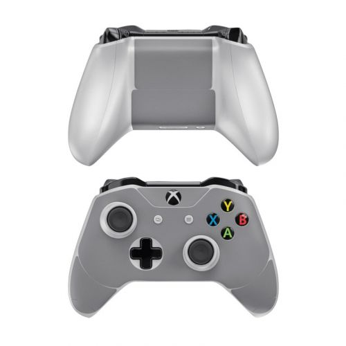 Solid State Grey Xbox One Controller Skin