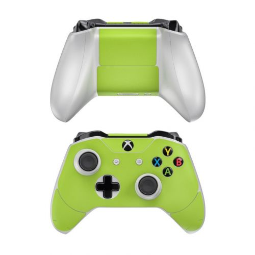 Solid State Lime Xbox One Controller Skin