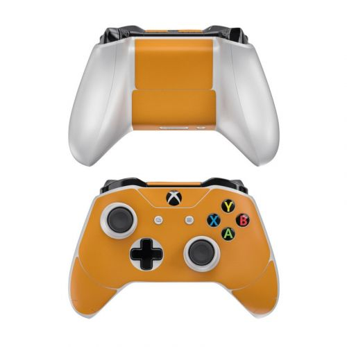 Solid State Orange Xbox One Controller Skin