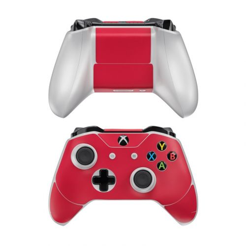 Solid State Red Xbox One Controller Skin