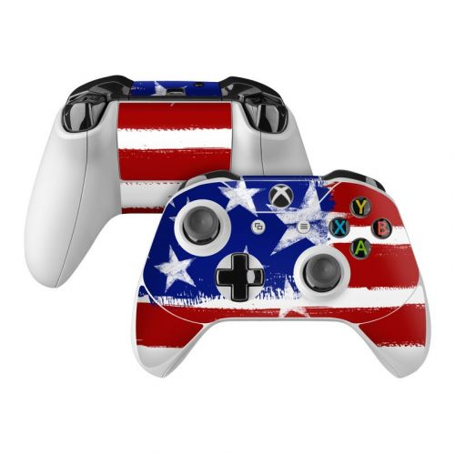 Stars + Stripes Xbox One Controller Skin