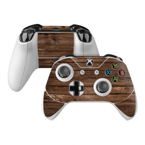 Stripped Wood Xbox One Controller Skin