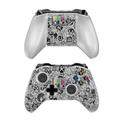 TV Kills Everything Xbox One Controller Skin