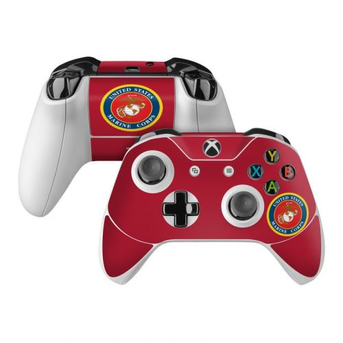 USMC Red Xbox One Controller Skin