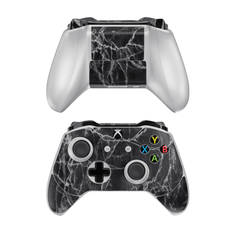 Xbox One Controller Skin design of Black, White, Nature, Black-and-white, Monochrome photography, Branch, Atmosphere, Atmospheric phenomenon, Tree, Sky with black, white colors
