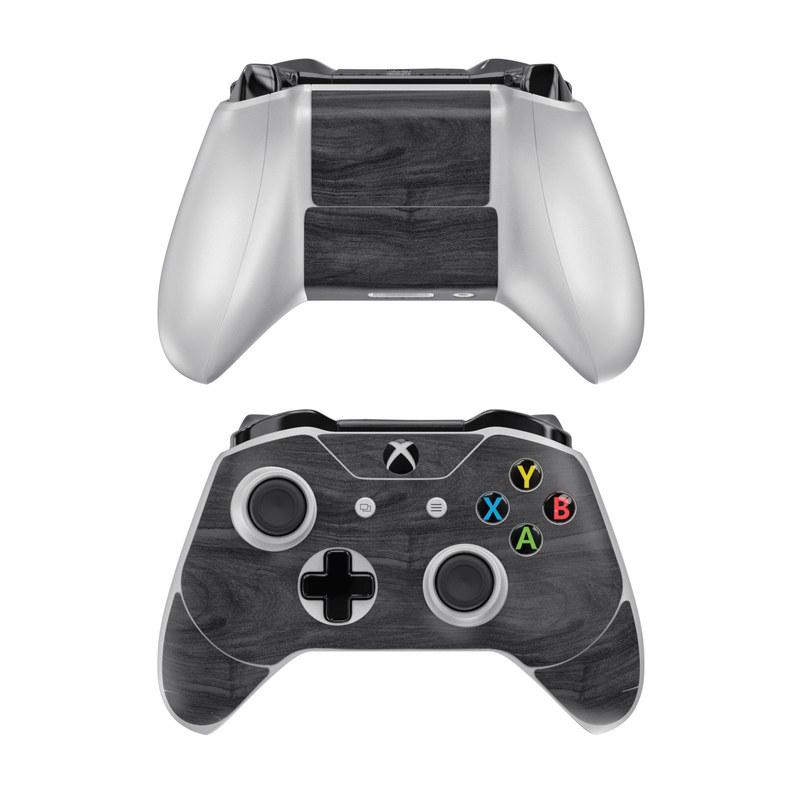 Black Woodgrain Xbox One Controller Skin