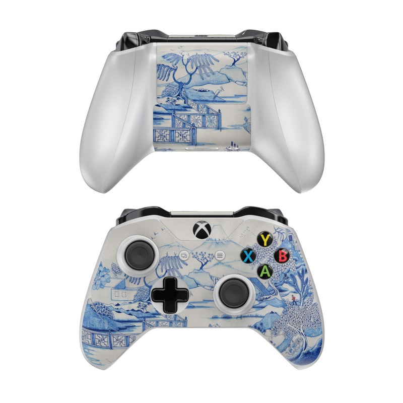 Blue Willow Xbox One Controller Skin