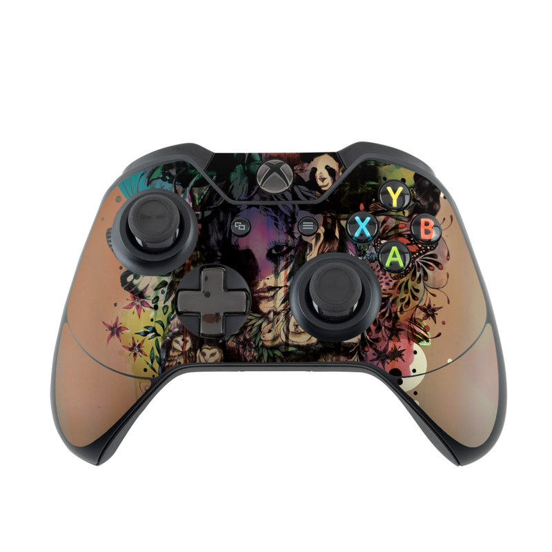Xbox One Controller Doom and Bloom Microsoft Xbox One Controller Skin