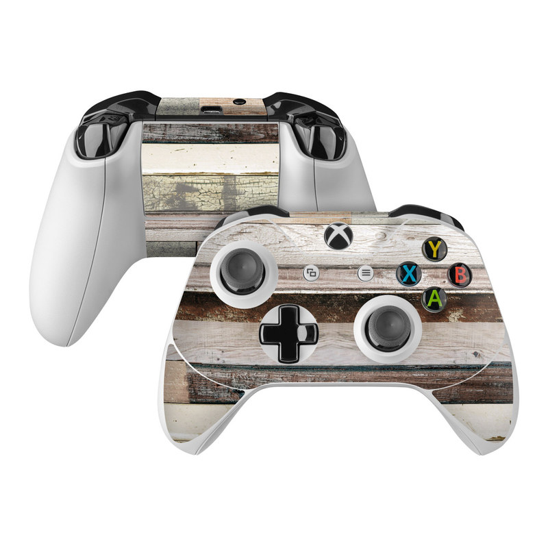 Eclectic Wood Xbox One Controller Skin