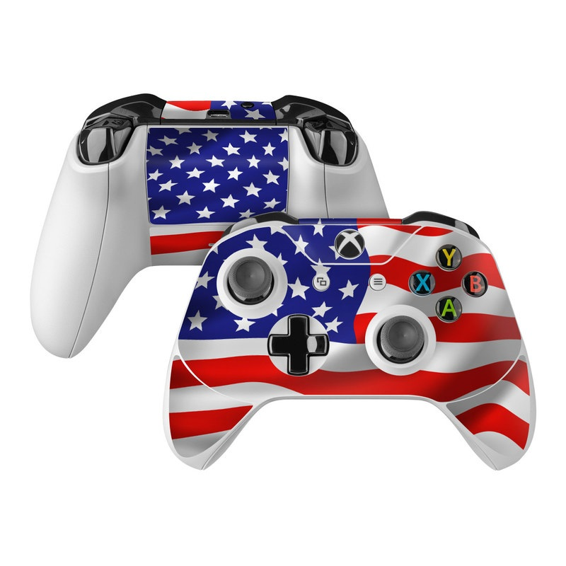 USA Flag Xbox One Controller Skin