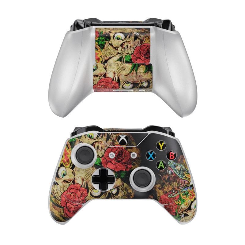 Gothic Tattoo Xbox One Controller Skin