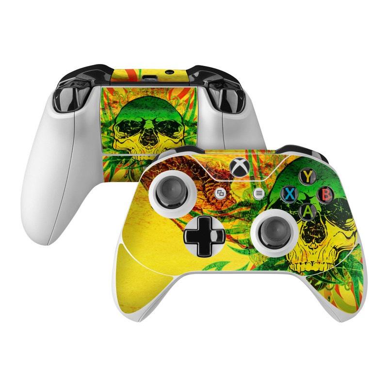 Hot Tribal Skull Xbox One Controller Skin